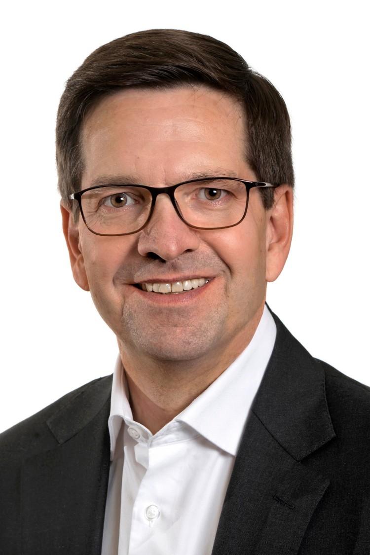 Kai-Otto Landwehr, CEO von Siemens Finance & Leasing