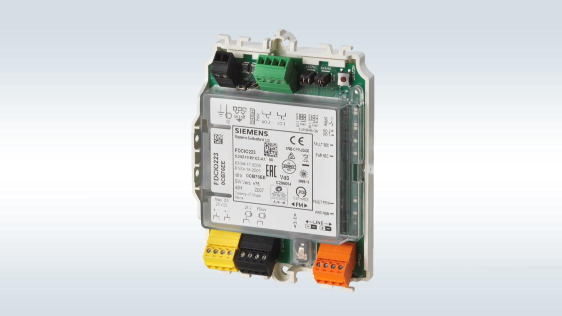 Siemens Gebäudetechnik | Ein-/Ausgangsmodule