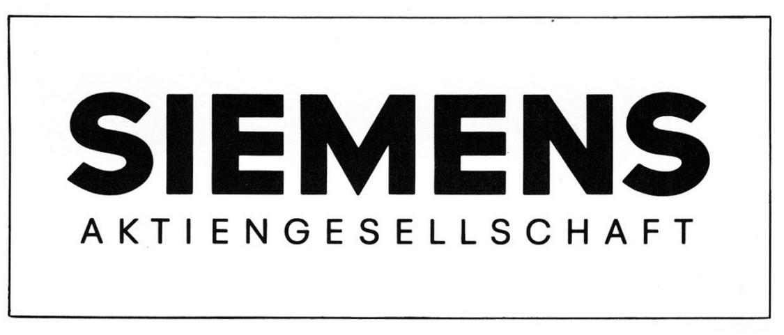 Siemens Logo 1969