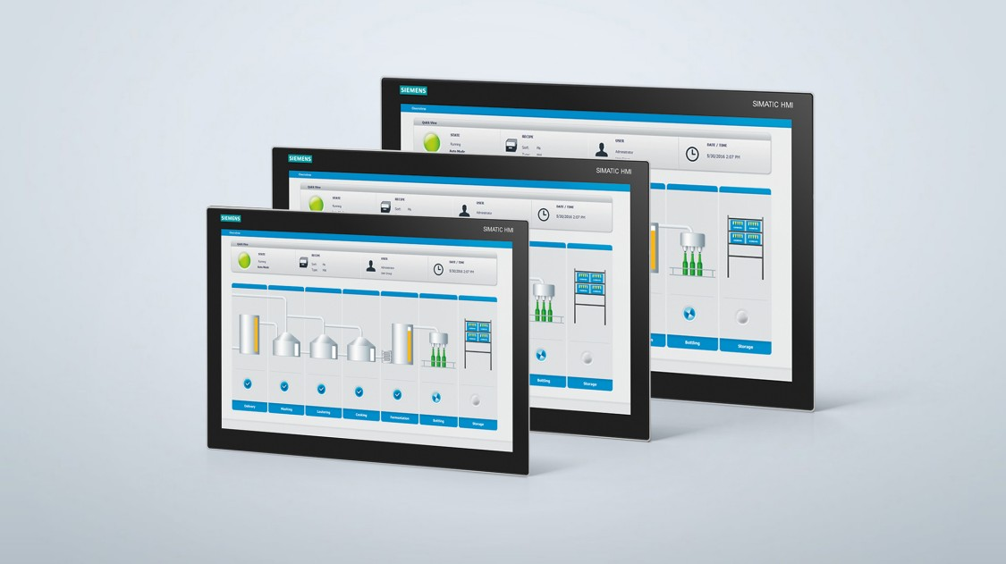 SIMATIC Monitores Industriales y Thin Clients