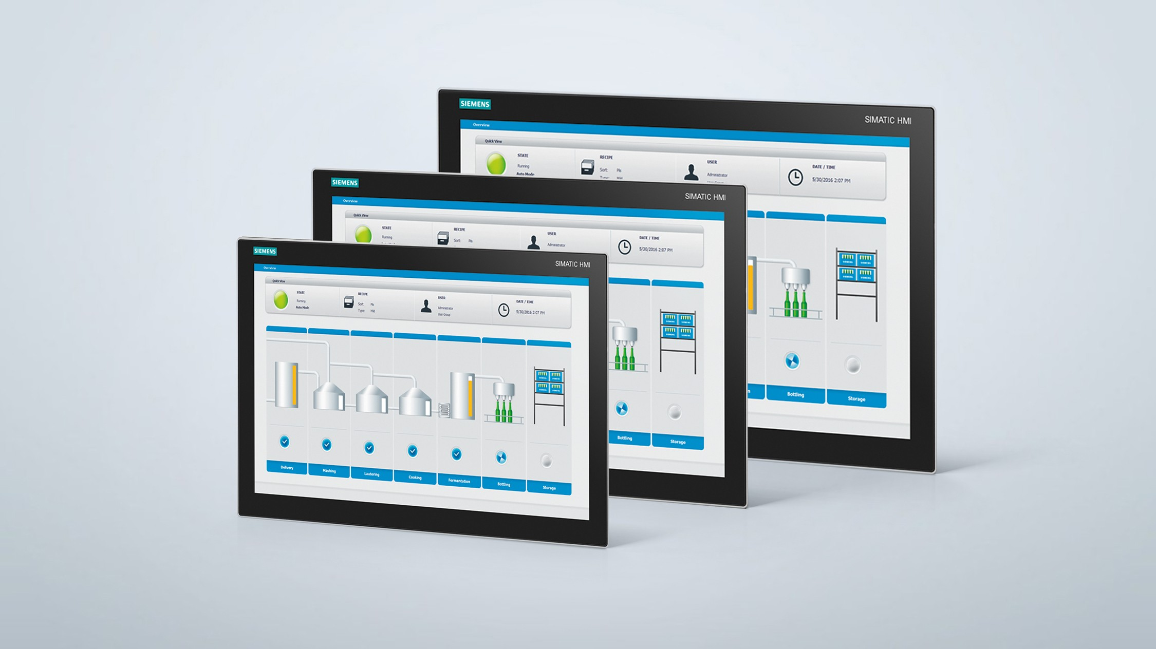 SIMATIC Industrial Monitors and Thin Clients | SIMATIC PC