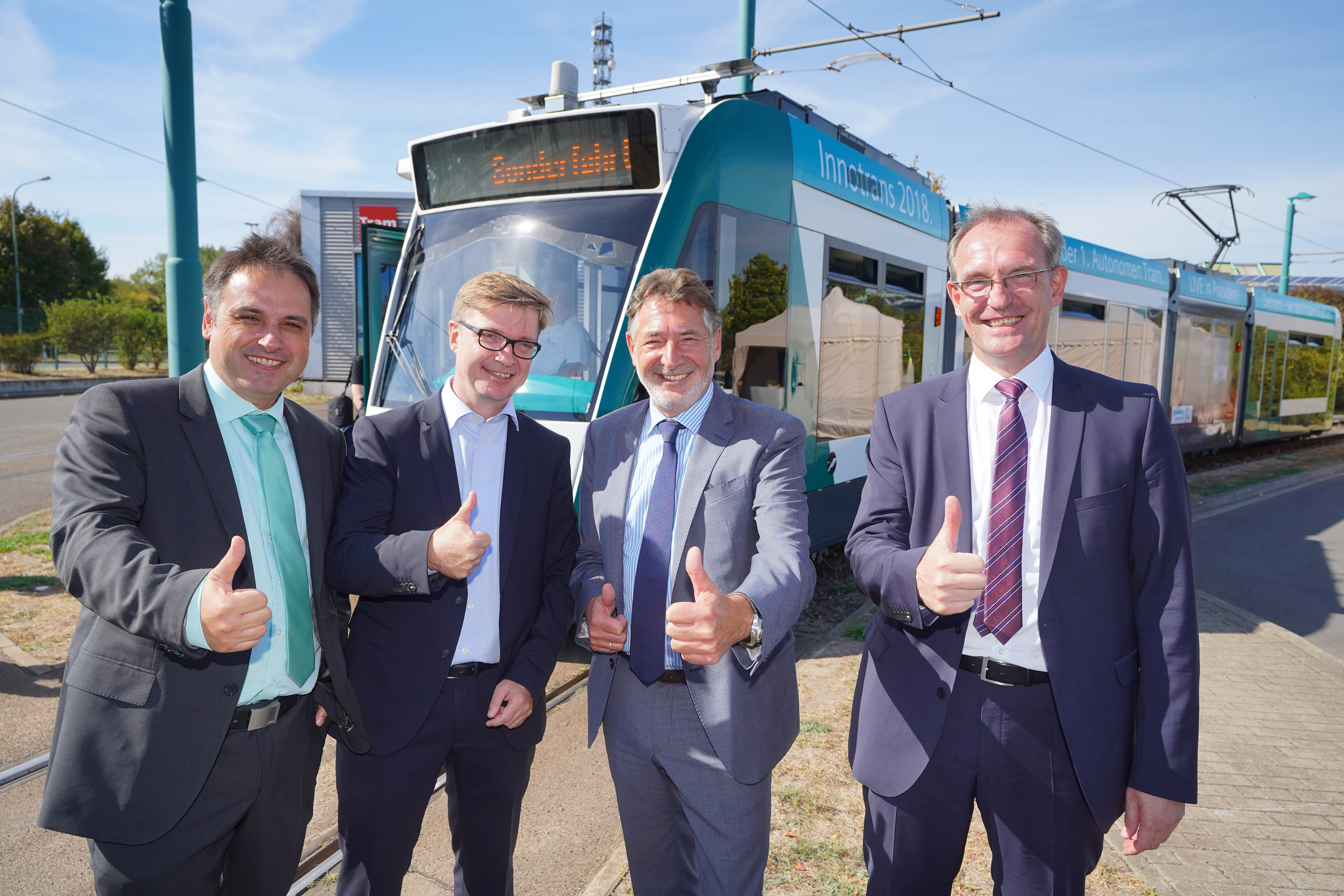 Connected and autonomous driving by road and rail will shape future