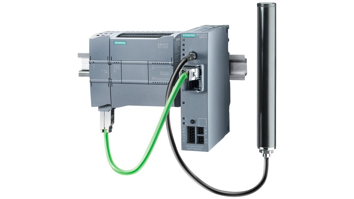 Bild einer RTU mit SIMATIC S7-1200 und Kommunikationsprozessor CP 1243-1 IEC
