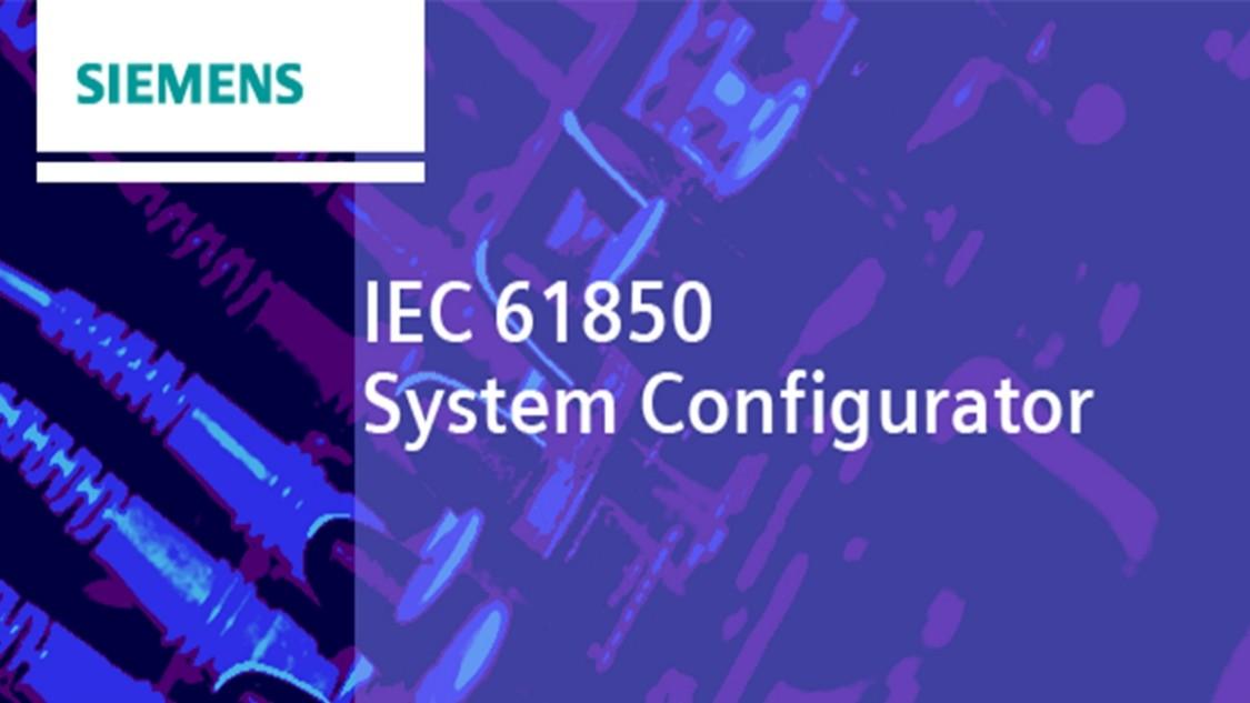 Engineering Software für IEC 61850 System - IEC 61850 System Konfigurator