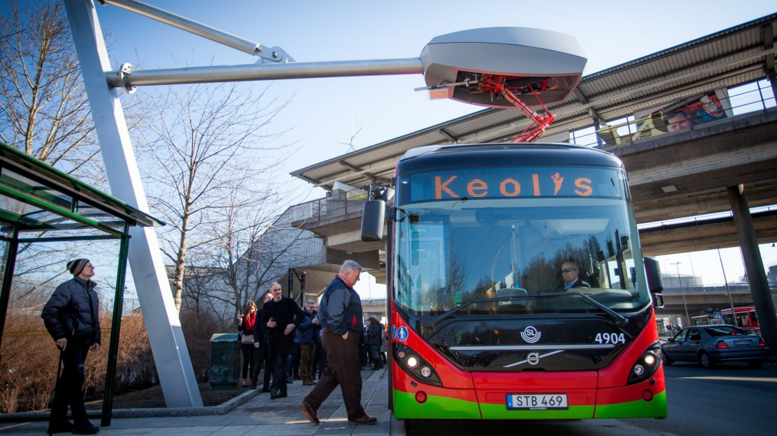 eBus charging infrastructure | Electromobility | Siemens
