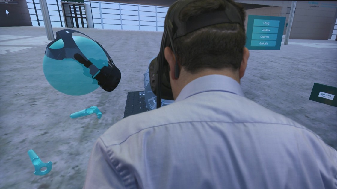 Theo Papadopoulos spends more time in the virtual space than any other Siemens Corporate Technology employee.