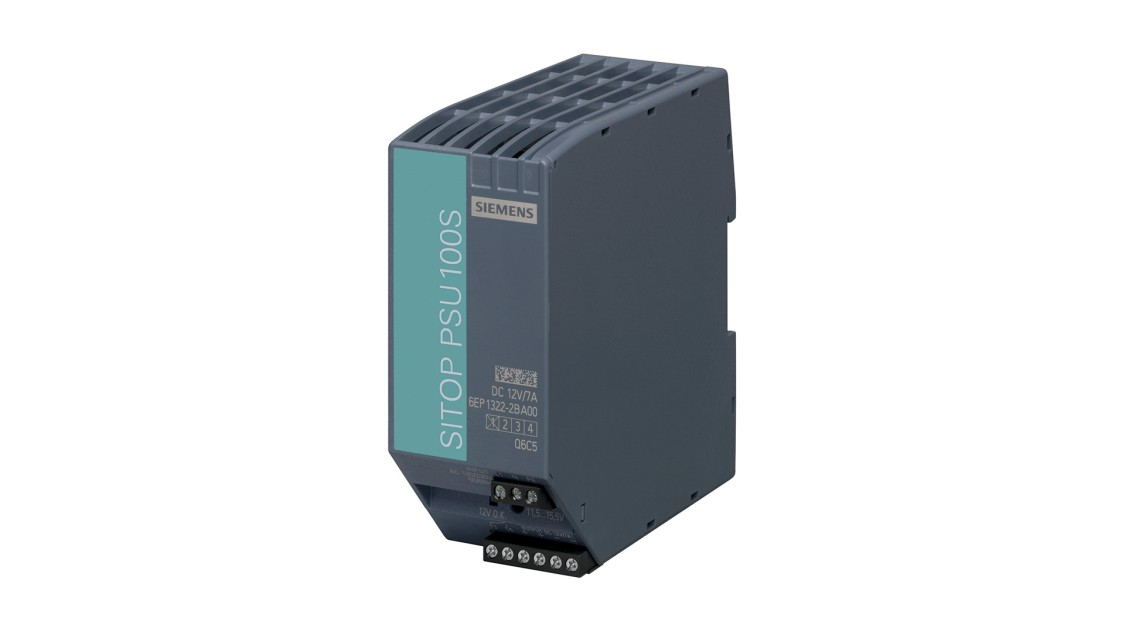 Product image SITOP PSU100S, 1-phase, DC 12 V/7 A