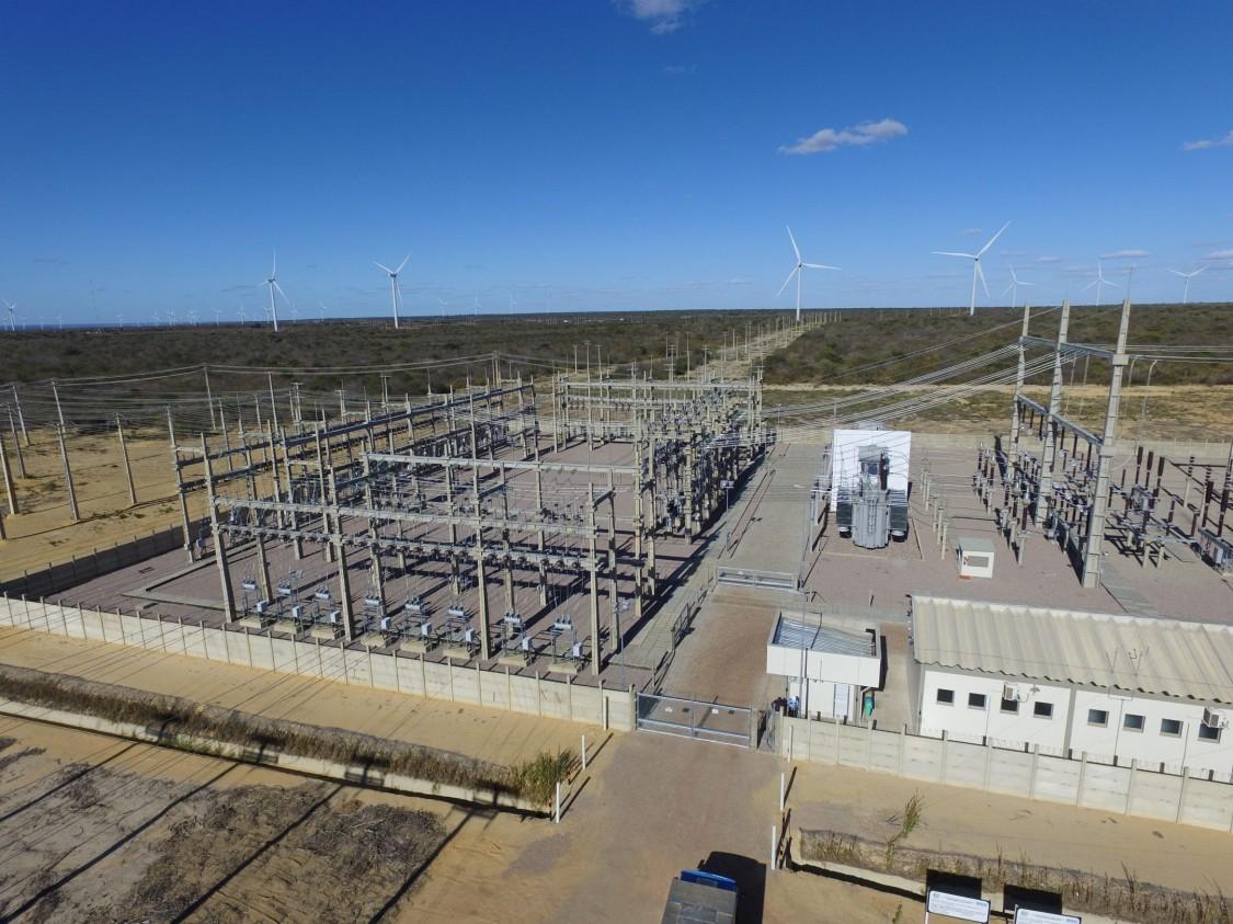 Реклоузер и баковый вакуумный выключатель для максимальной безопасности на ветровой электростанции в Бразилии