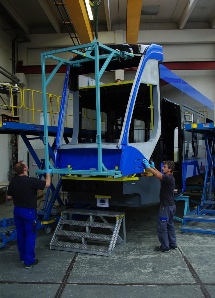 Avenio: A new tram for Munich