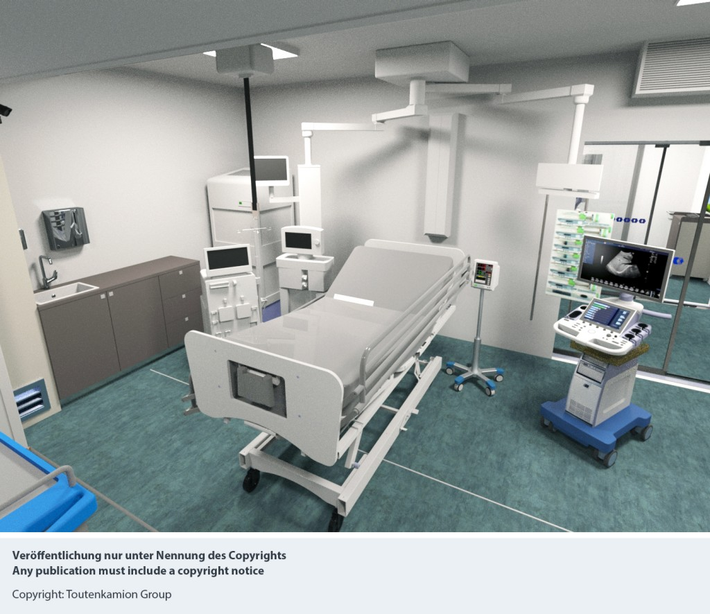 Siemens and Toutenkamion Group create mobile intensive care units for hospitals