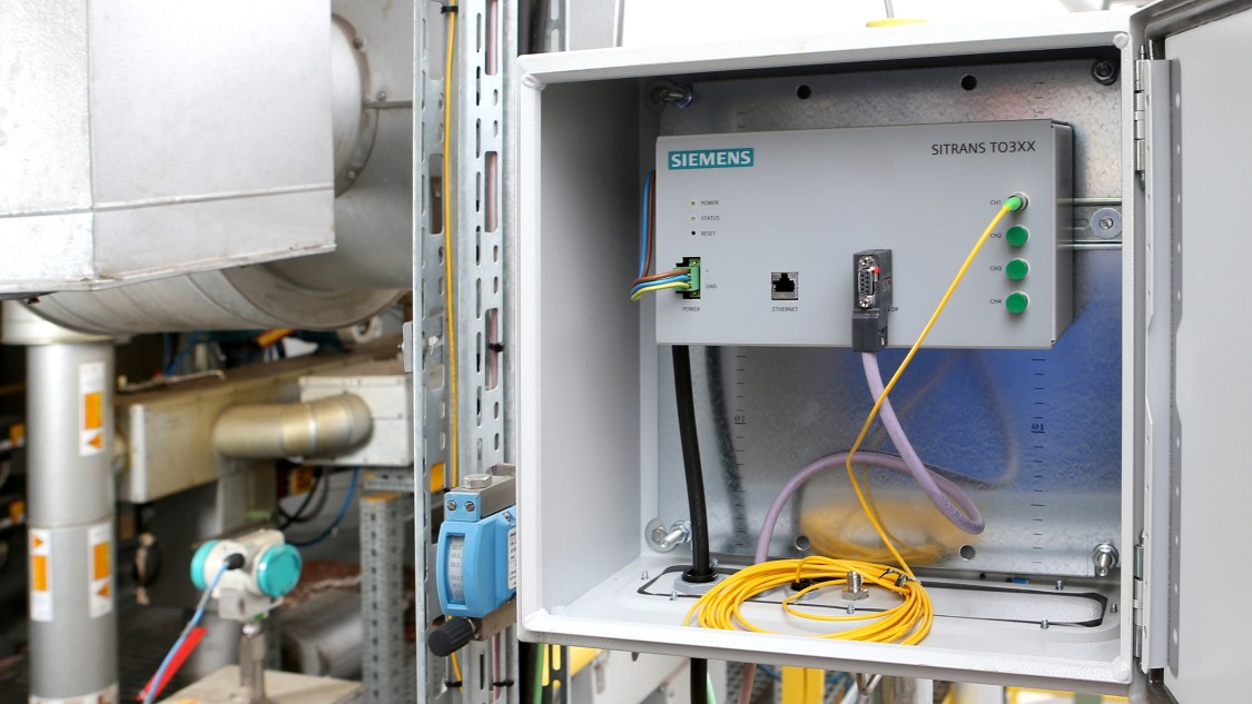 Siemens SITRANS TO500: a customized solution