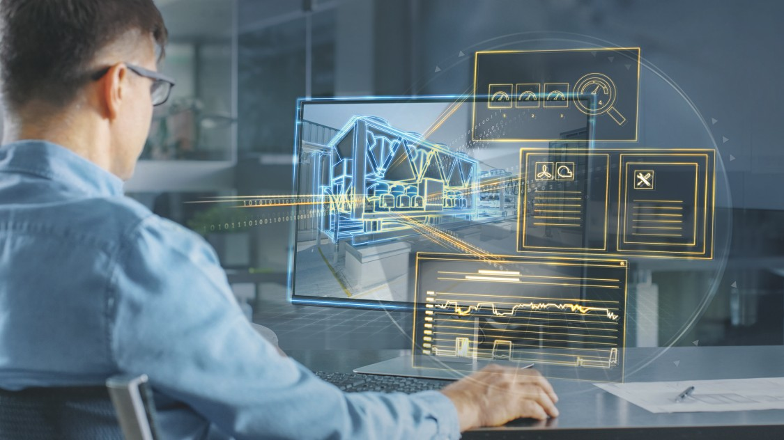 Engineering working with Smart Infrastructure tools