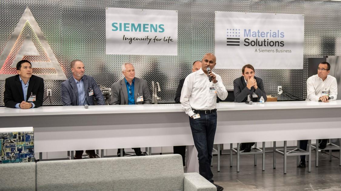 A Siemens és a Material Solutions új innovációs központot nyitott az USA-ban