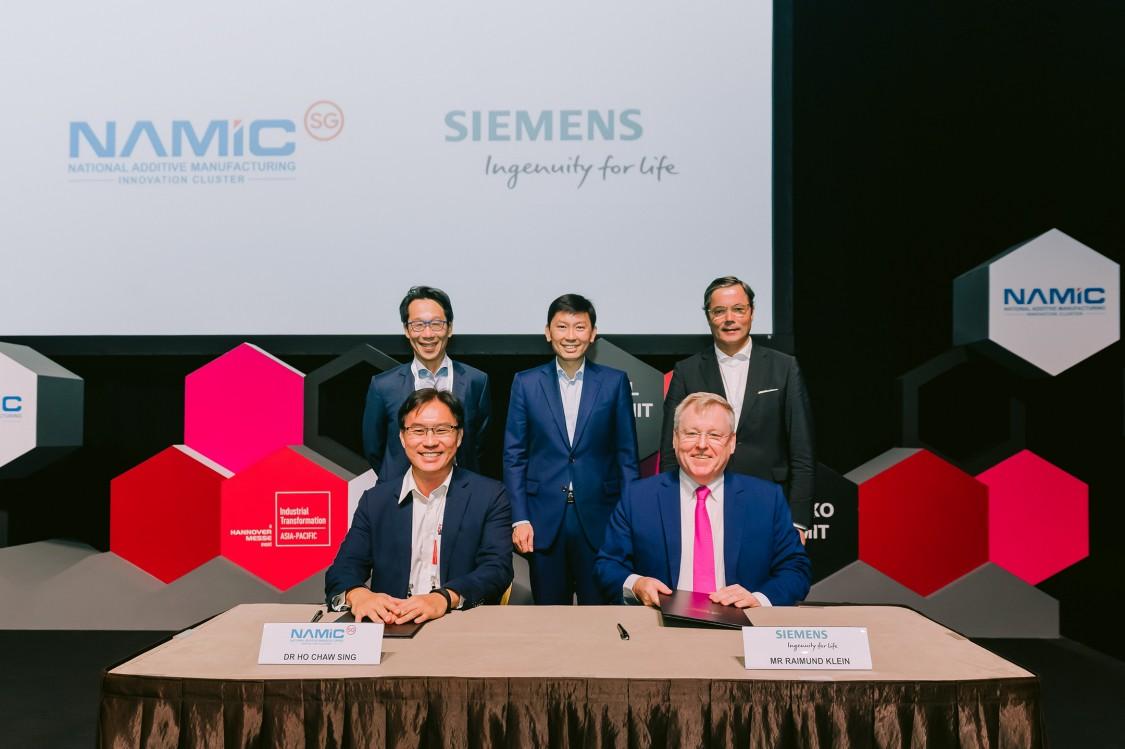 Siemens-NAMIC 2019 MoU Signing