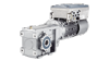 Product image SINAMICS G110M on a SIMOGEAR geared motor