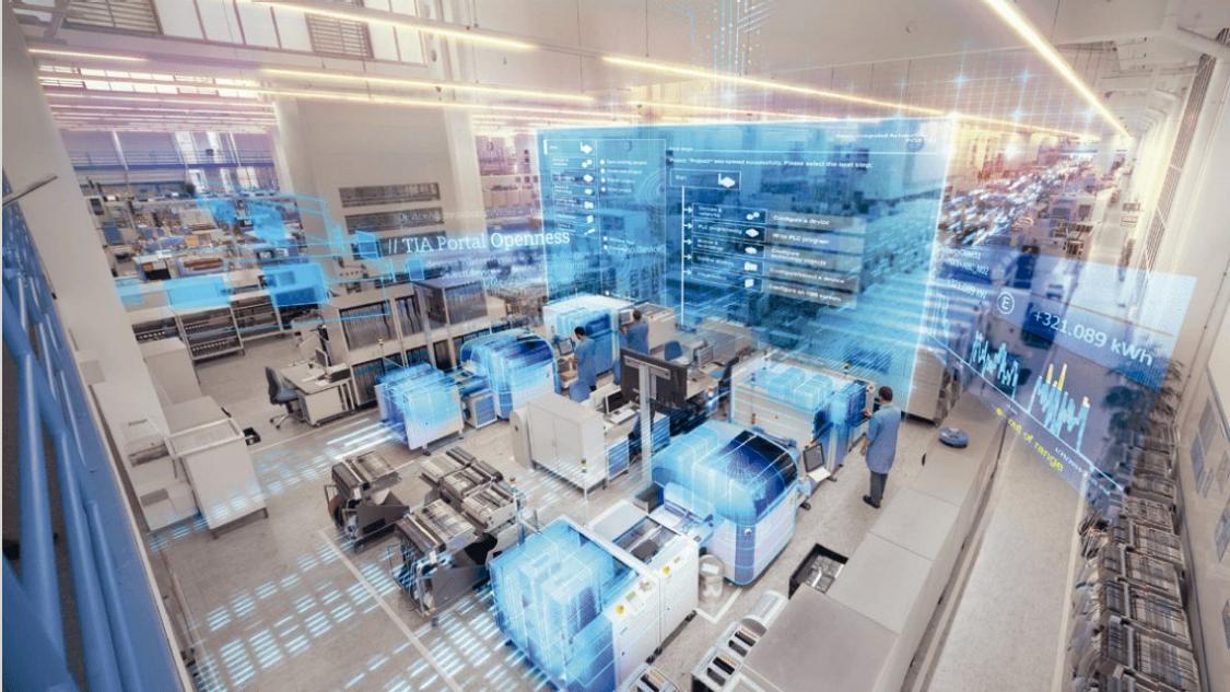 Entdecken Sie die digitale Fabrik