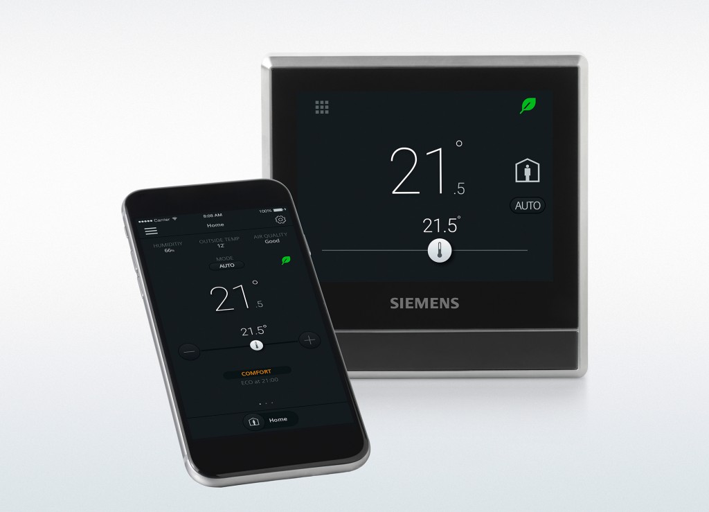 Smart thermostat for residential buildings