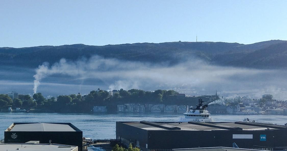 Landstrøm til cruiseskip vil redusere CO2-utslippene dramatisk