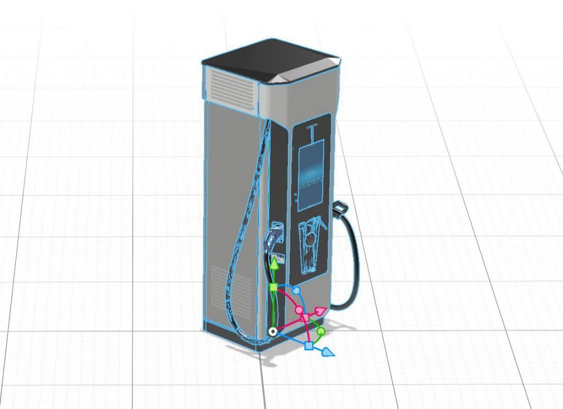 SICHARGE D-3D Model