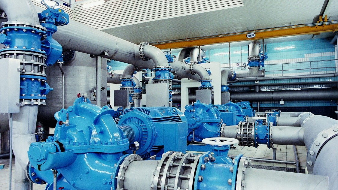 Siemens SIRIUS 3RW Softstarter - pompstop - watervoorziening - water hammers