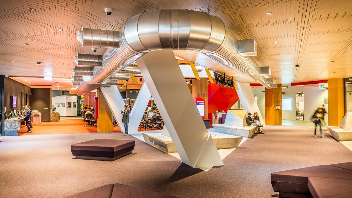 Intelligente Gebäudeautomation macht den Campus zu einem bequemen und angenehmen Studienort.