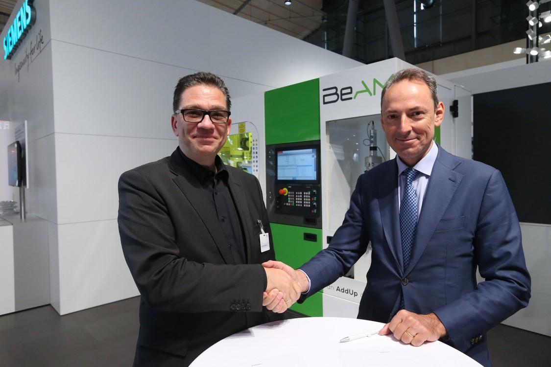 A BeAM és a Siemens erősítik együttműködésüket a lézeres felrakóhegesztéshez használt ipari 3D nyomtatás terén