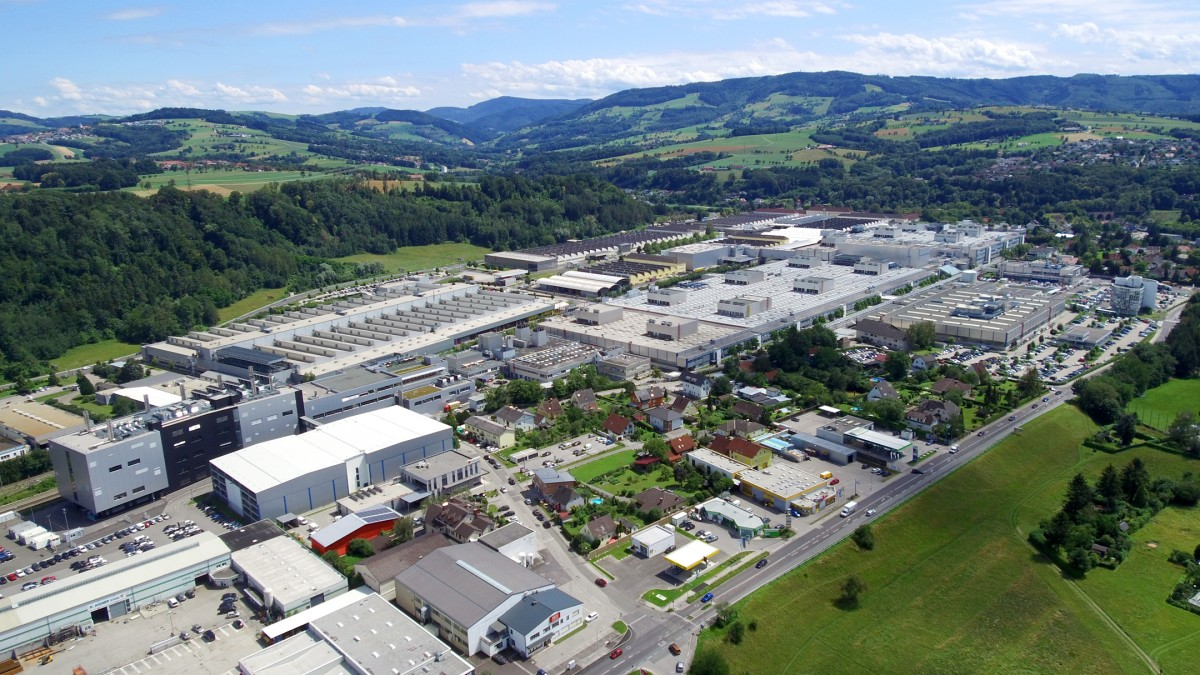The BMW Group factory in Steyr