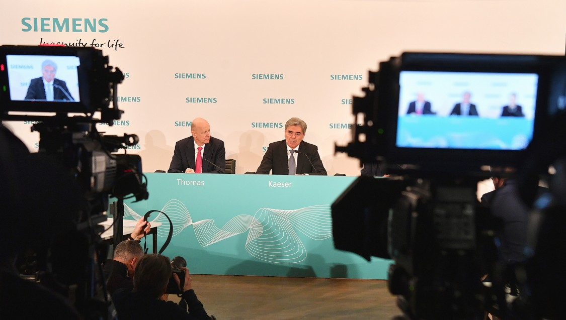 Siemens Global Management Team
