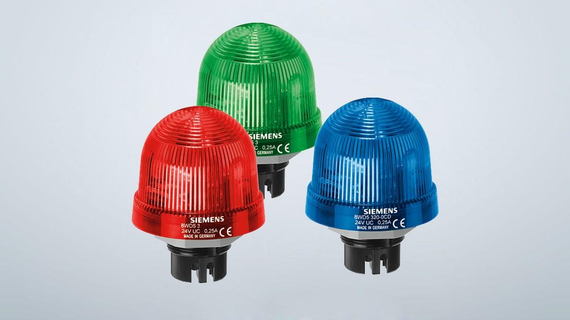 Lampes de signalisation intégrées 8WD5