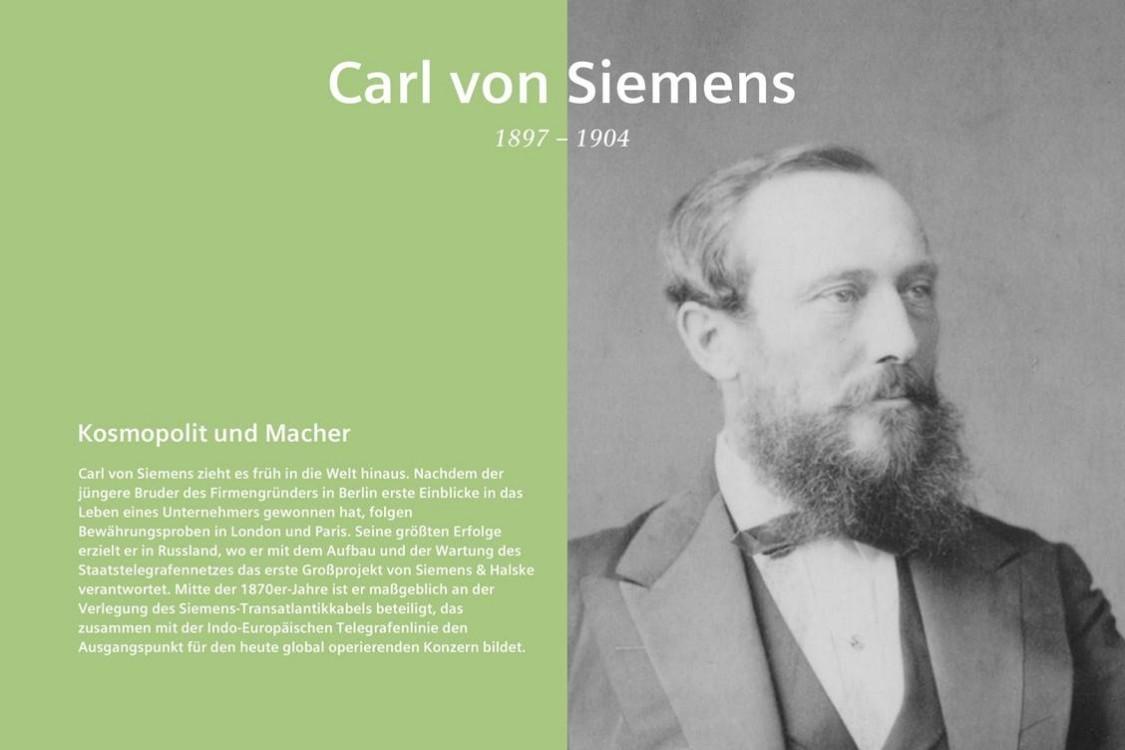 Carl von Siemens Scrollytelling
