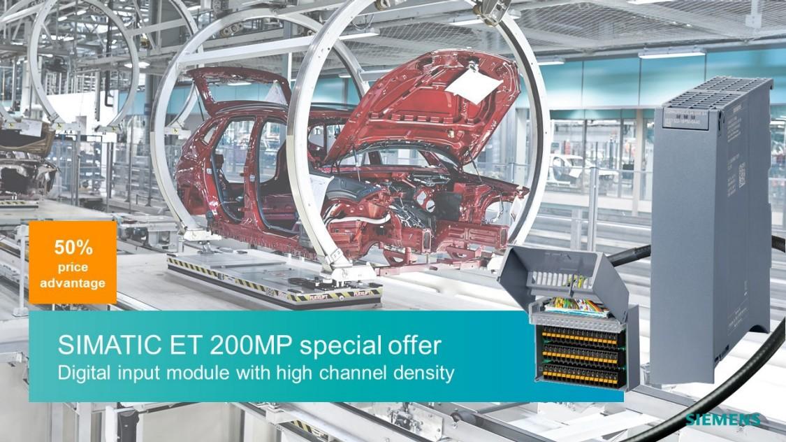 SIMATIC ET 200 MP Aktionspaket
