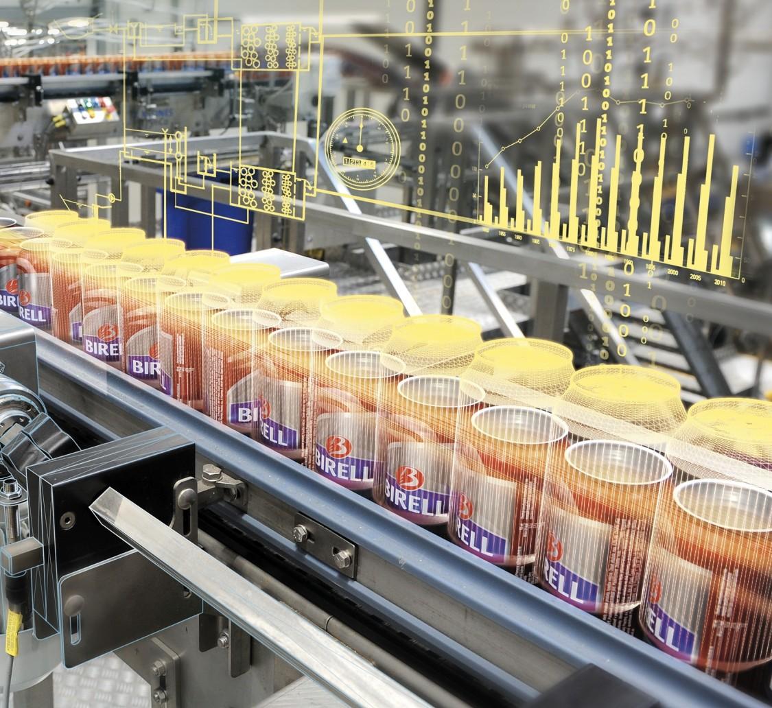 Siemens reference plnění plechovek vedla ke zvyšování efektivity.