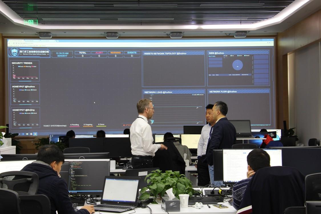 Siemens Cyber Security Defense Center in Suzhou
