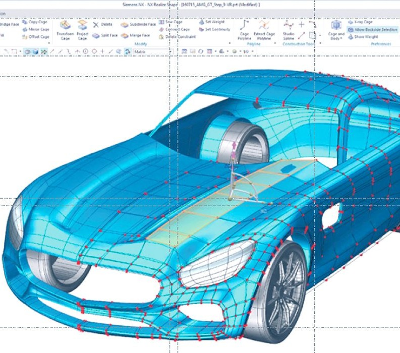 The Digital Twin Of The Product Automotive Manufacturing Global