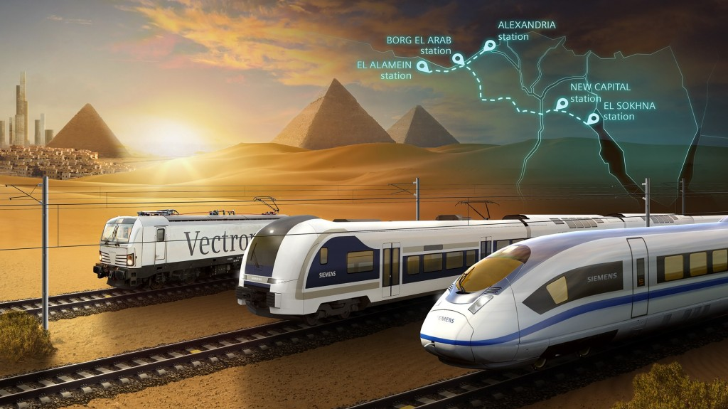 Order for high-speed train project in Egypt