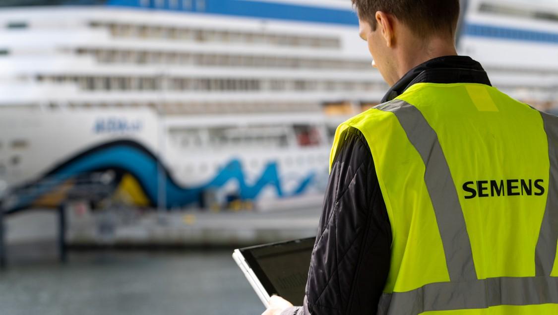 Im Seehafen Kiel wird die SENTRON powermind App verwendet, um jederzeit Leistungsdaten abrufen zu können