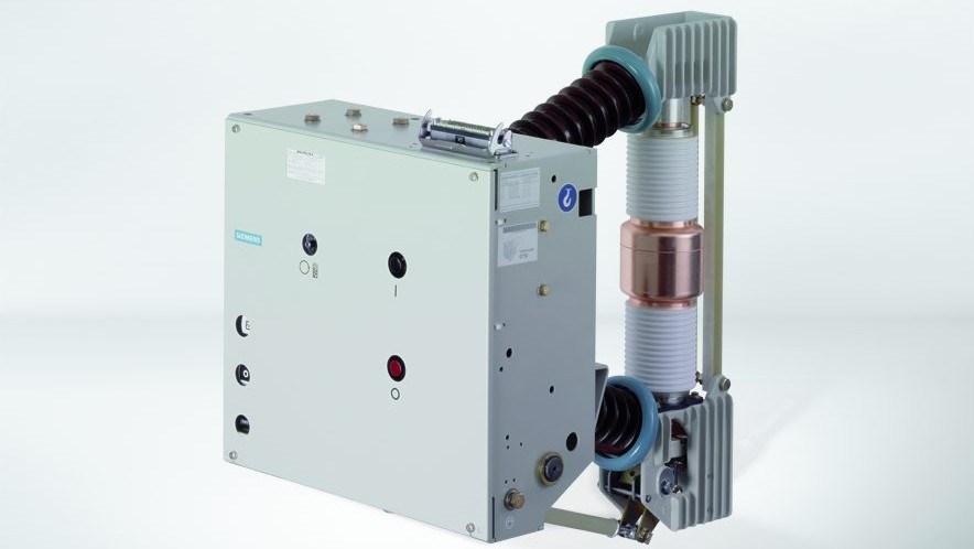 Disjuntores a vácuo do tipo 3AH47 da Siemens para fonte de alimentação de tração CA.