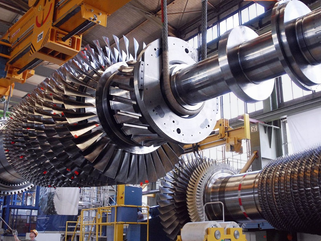Irsching gas turbine, 2009