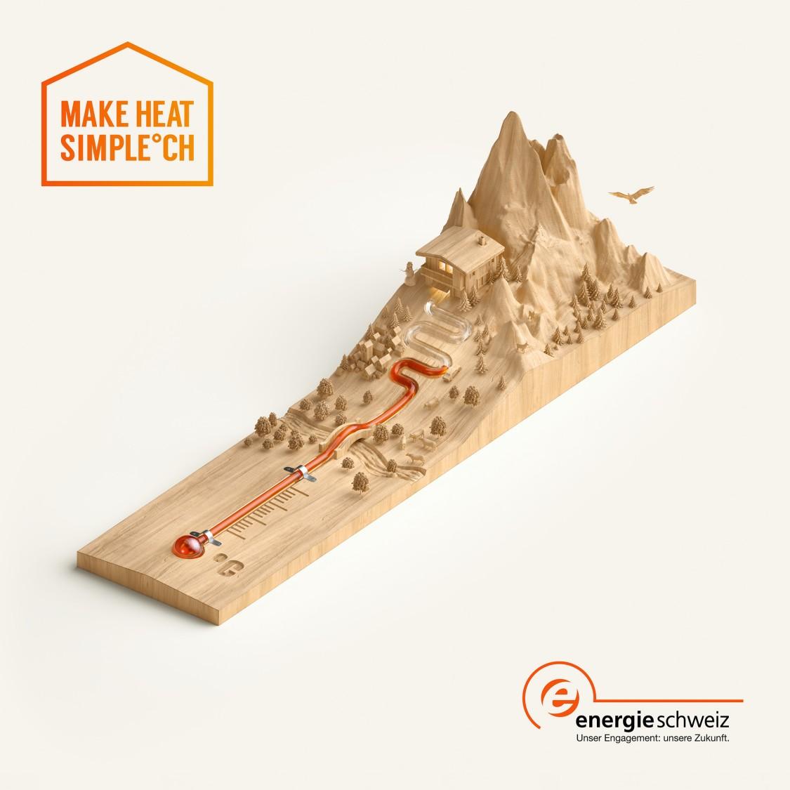 MakeHeatSimple Kampagne Energie Schweiz