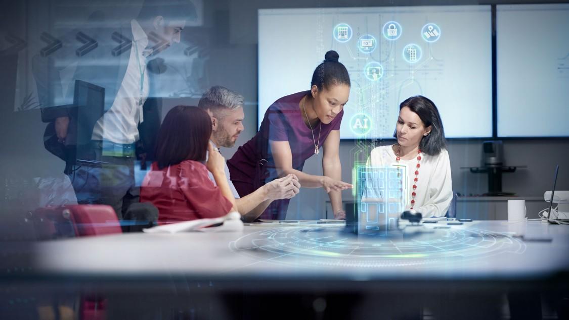 Zielony kwadrant platform IoT dla inteligentnych budynków