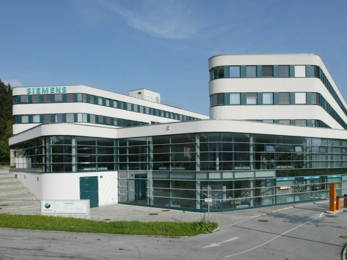 Die Siemens Niederlassung Salzburg