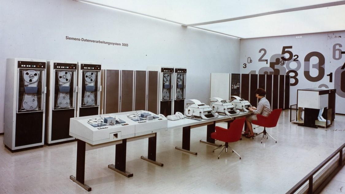 Компьютер «Сименс 3003», 1963 год