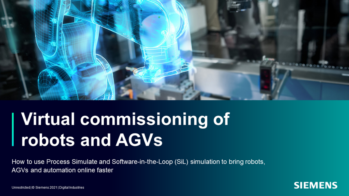 Get started with virtual commissioning:  Software-in-the-Loop (SIL) simulation of electrical controls