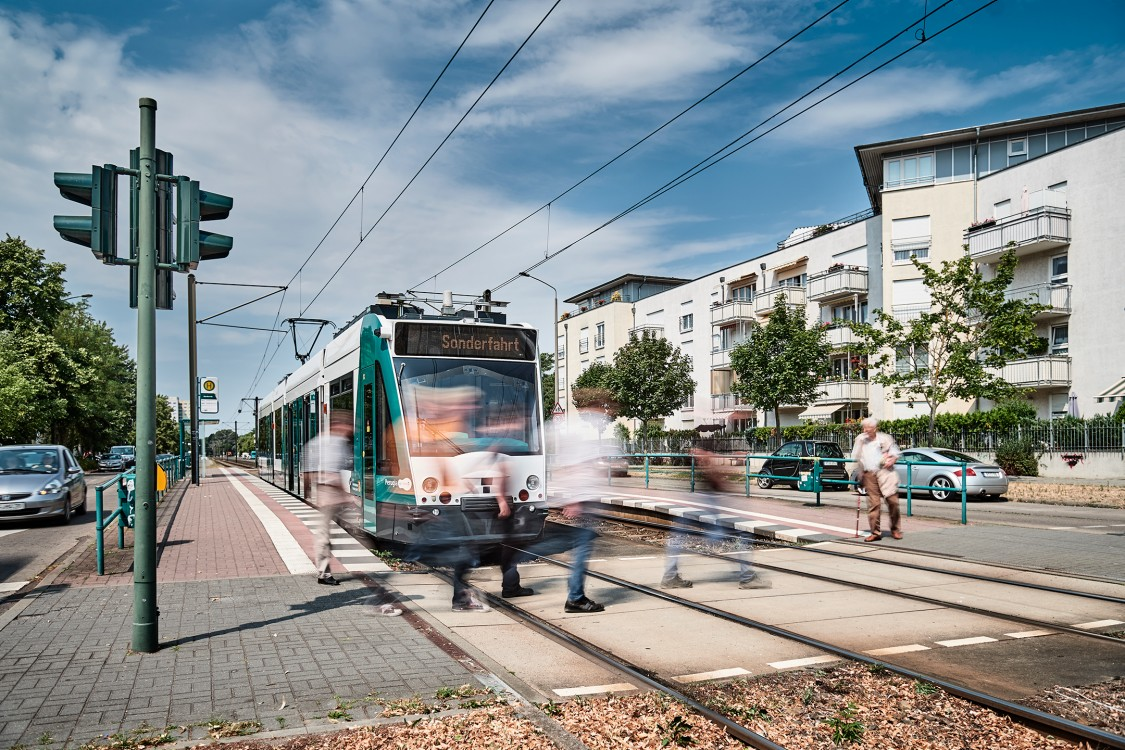 Teaching trams to drive – our research prototype on the rails