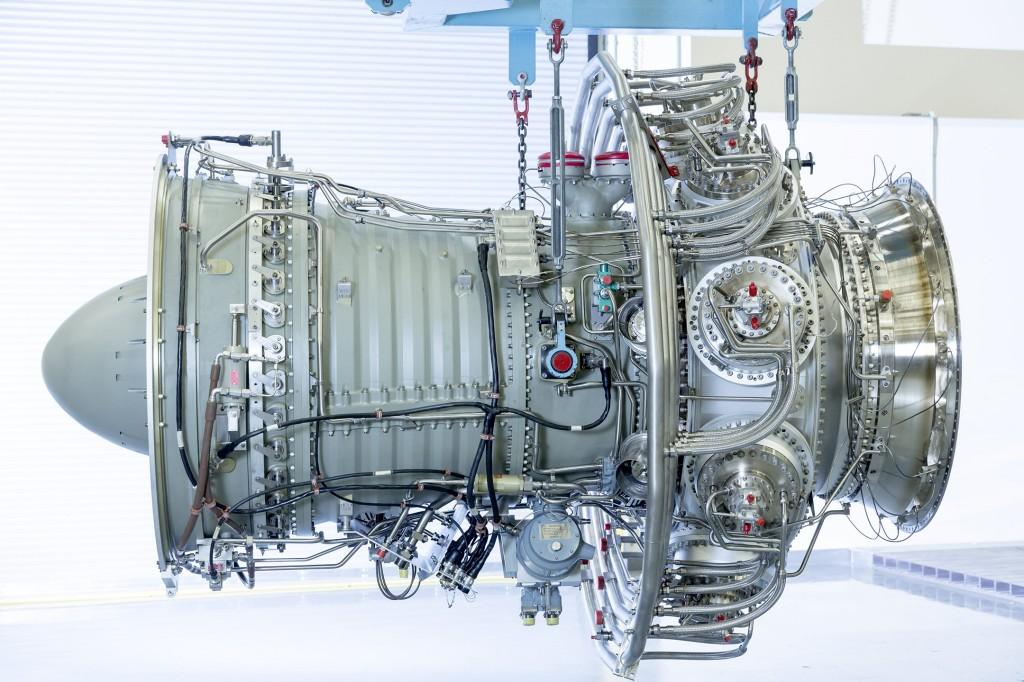 Core Engine der Gasturbine SGT-A30 RB