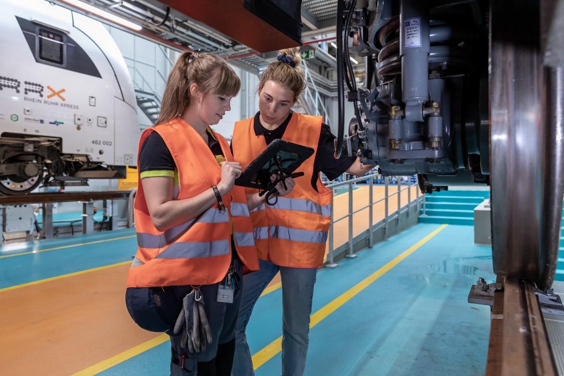 Female apprentices