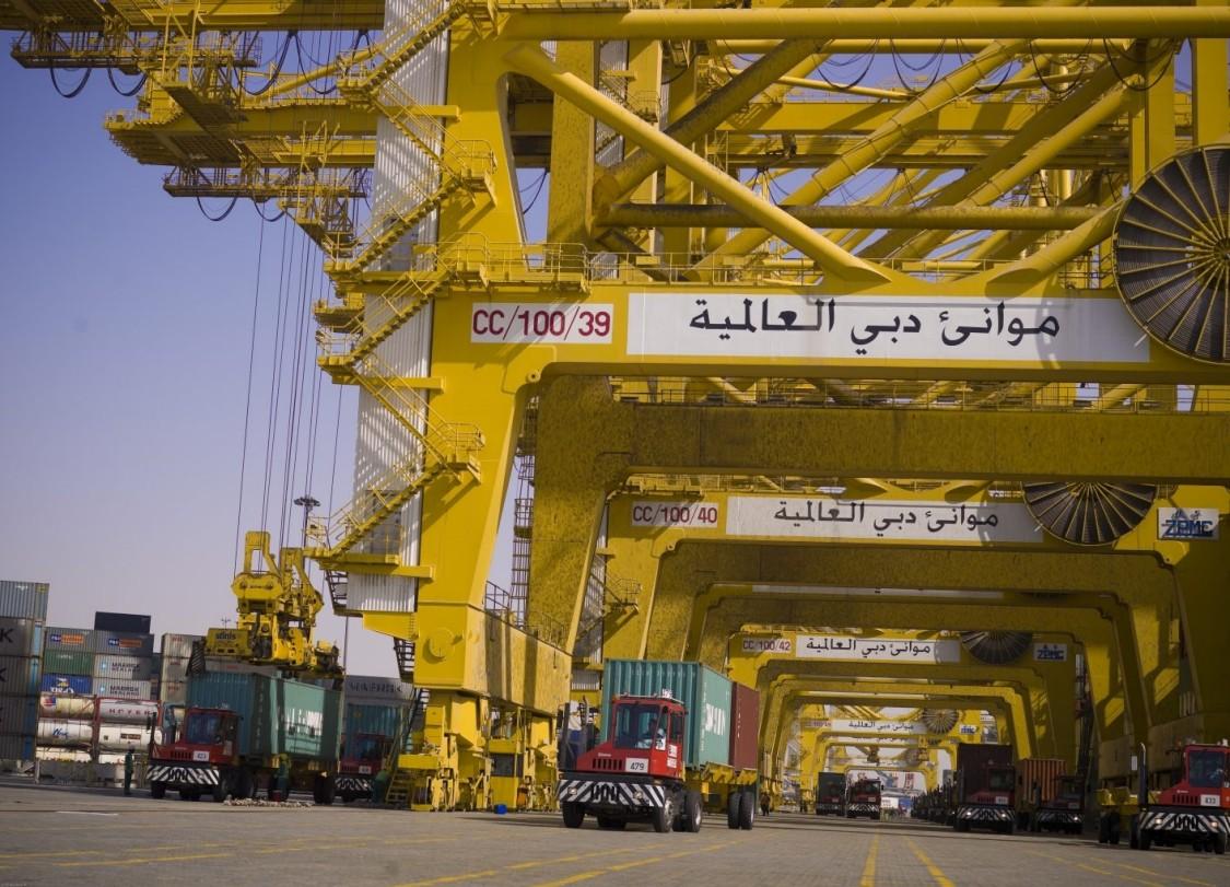 Key visual Harbor Cranes Truck positioning