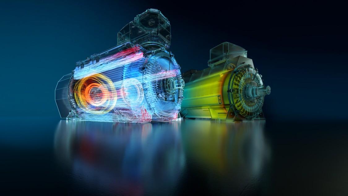 SIMOTICS HV motors key visual