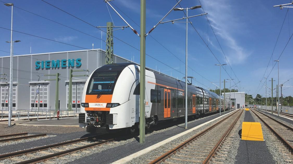 Rail Service Center Dortmund-Eving und RRX