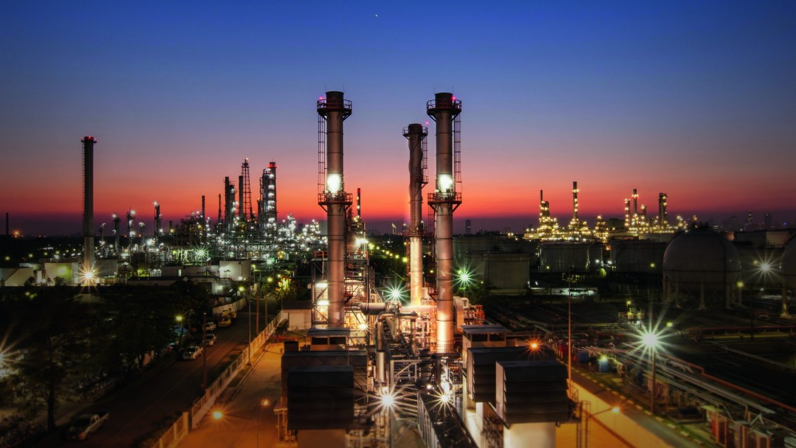 Industrie Raffinerie Produktion